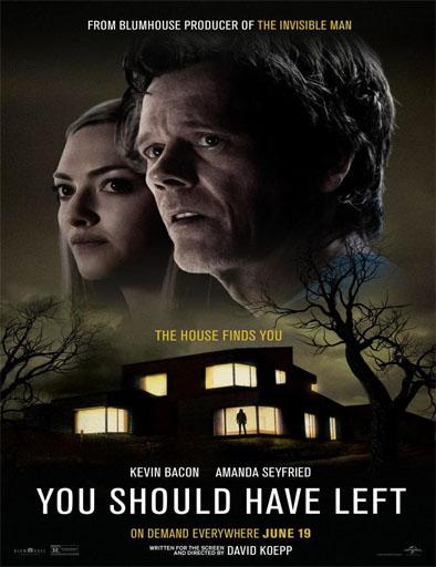 Poster de You Should Have Left