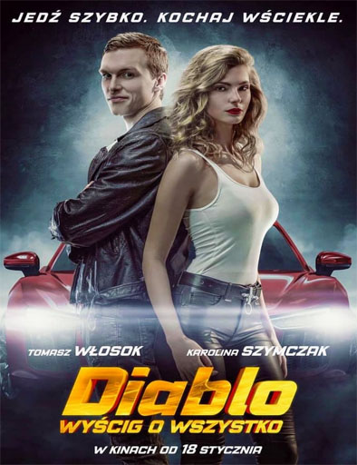 Poster de Diablo. The race for everything