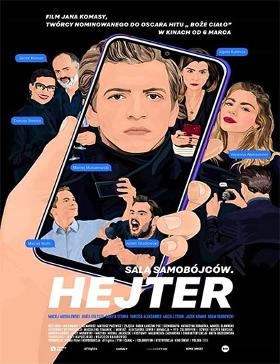 Poster de The Hater