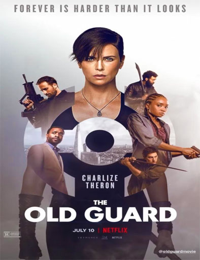 Poster de The Old Guard (La vieja guardia)