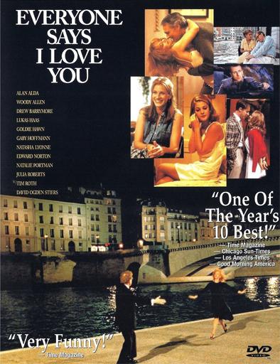 Poster de Everyone Says I Love You (Todos dicen te quiero)