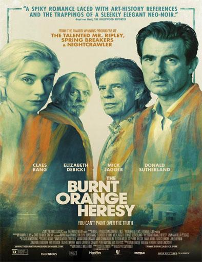 Poster de The Burnt Orange Heresy