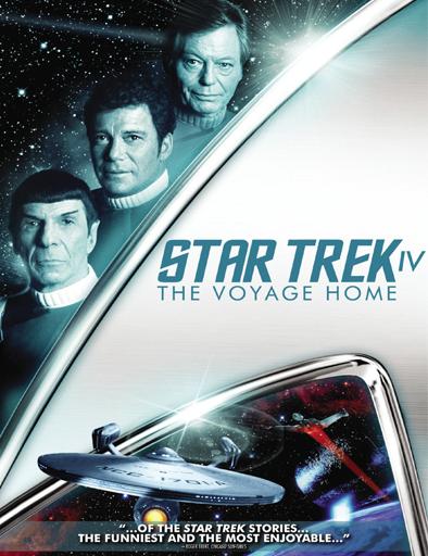 Poster de Star Trek 4: Misión: salvar la Tierra