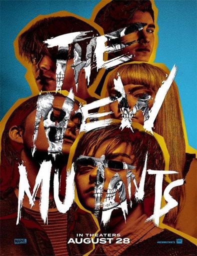 Poster de The New Mutants (Los nuevos mutantes)