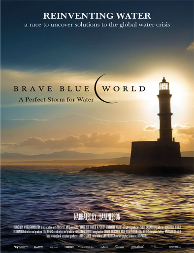 Poster de Brave Blue World