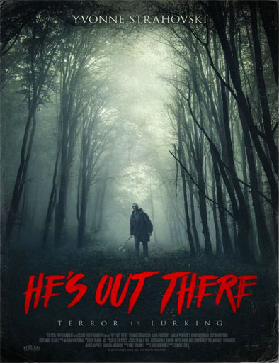 Poster de He's Out There (Una presencia extraña)