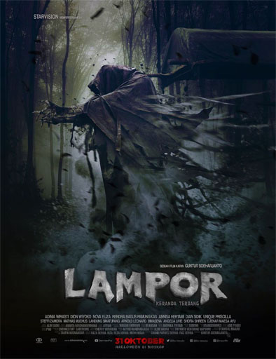 Poster de Lampor: The Flying Coffin