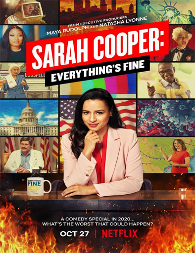 Poster de Sarah Cooper: Everything's Fine