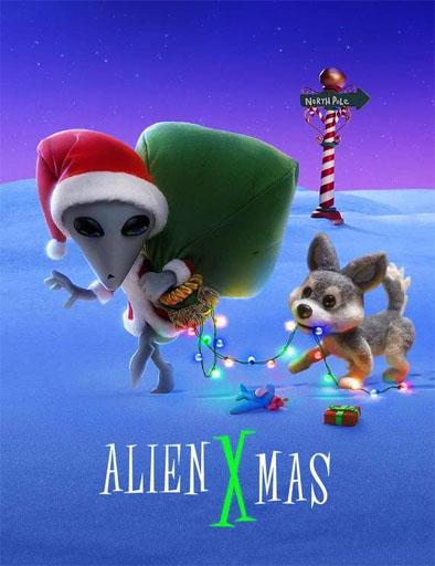 Poster de Alien Xmas (Navidad Xtraterrestre)