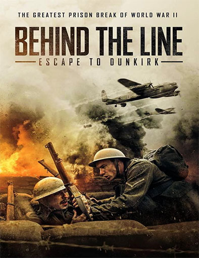 Poster de Behind the Line: Escape to Dunkirk