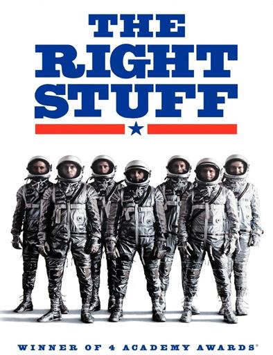 Poster de The Right Stuff (Los elegidos de la gloria)