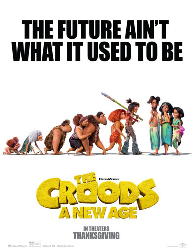 Poster de The Croods: A New Age (Los Croods 2: Una nueva era)