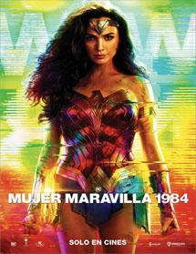 Poster new de Wonder Woman 1984 (Mujer Maravilla 1984)