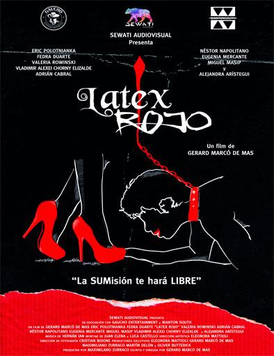Poster de Látex rojo