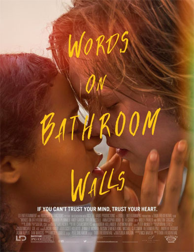 Poster de Words on Bathroom Walls